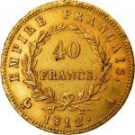 Expertise double-napoléon 40 francs