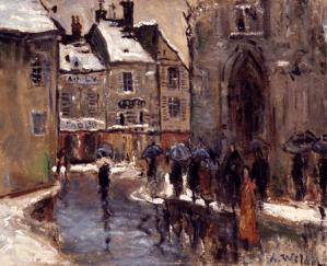 Peinture André Wilder