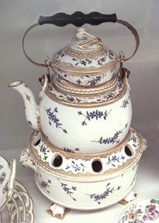 Bouilloire en porcelaine dure