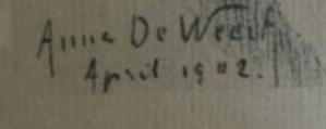 Signature Anna de Weert
