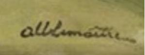 Signature d'Albert Lemaitre