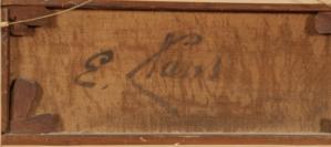 Signature Émile Claus