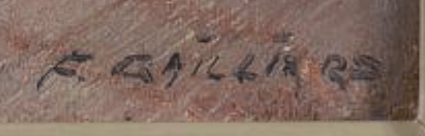 signature Frans GAILLIARD