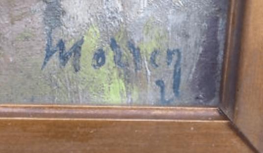 signature Georges MORREN