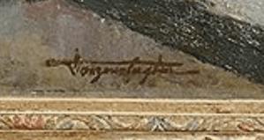 signature Georges VAN ZEVENBERGHEN