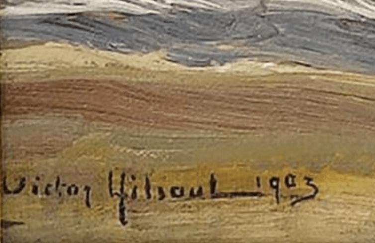 signature Victor Gilsoul