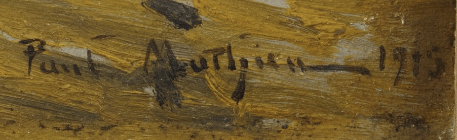 signature Paul MATHIEU