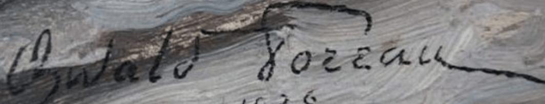 signature oswald poreau