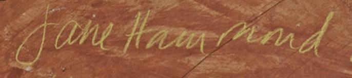 signature Jane HAMMOND