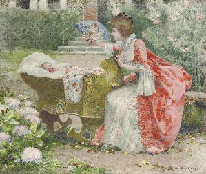 Peinture Edouard Toudouze