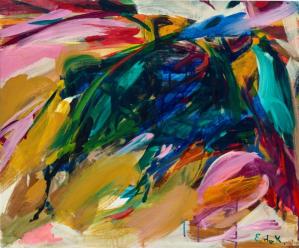 Peinture Elaine de Kooning