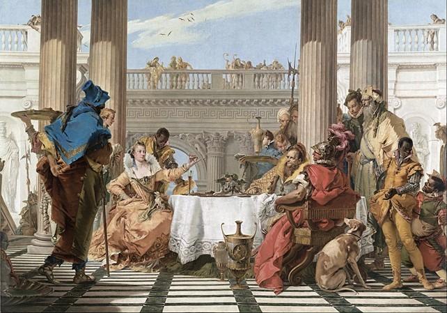 fresques Cléopâtre