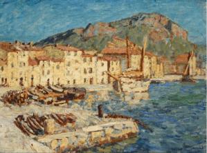 Peinture René Seyssaud