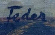 signature adolphe feder