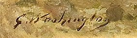 signature georges washington