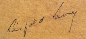 signature léopold lévy