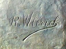 signature robert wlérick