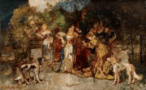 Peinture Adolphe Monticelli
