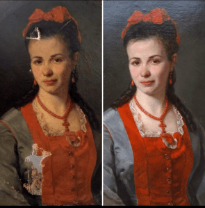 Restauration de tableau et peinture