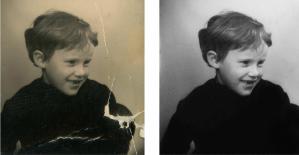 Restauration photographie ancienne