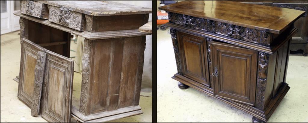 Restauration meubles anciens