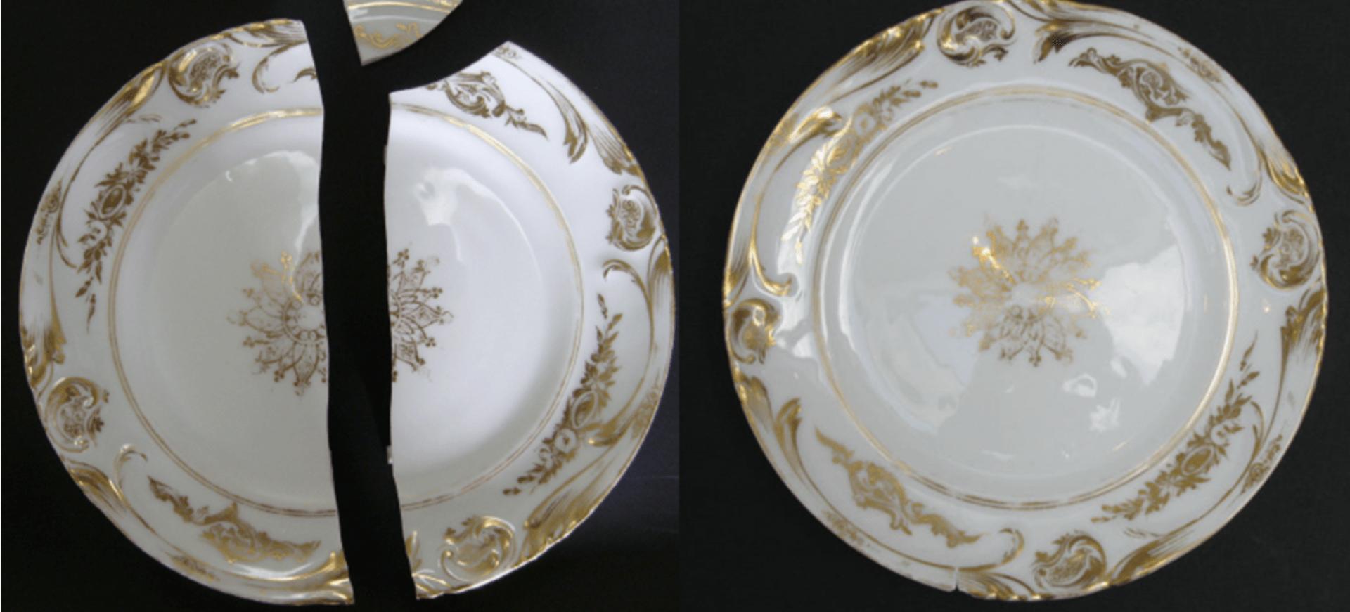 Restauration céramique et porcelaine