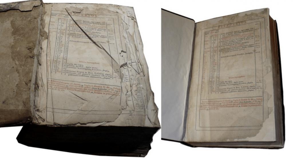 Restauration de livres anciens et bandes dessinées