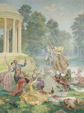 Peinture Maurice Leloir