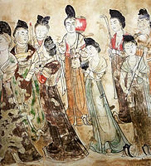 Peinture Tang