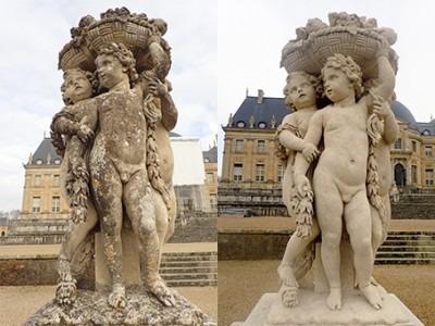 Restauration sculpture