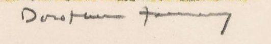 signature dorothea tanning