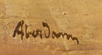 Signature Alfred Aberdam