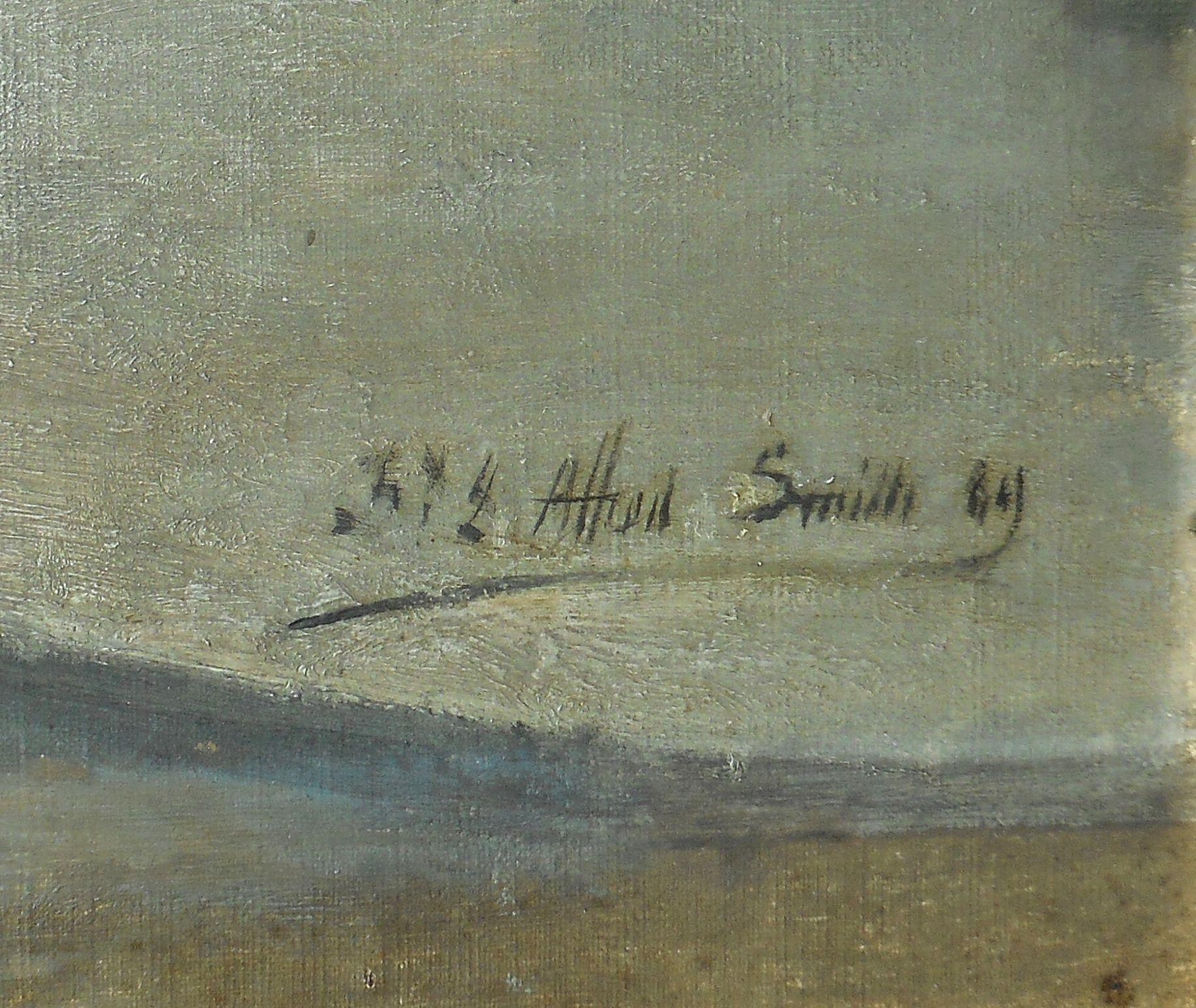 Signature Alfred Smith