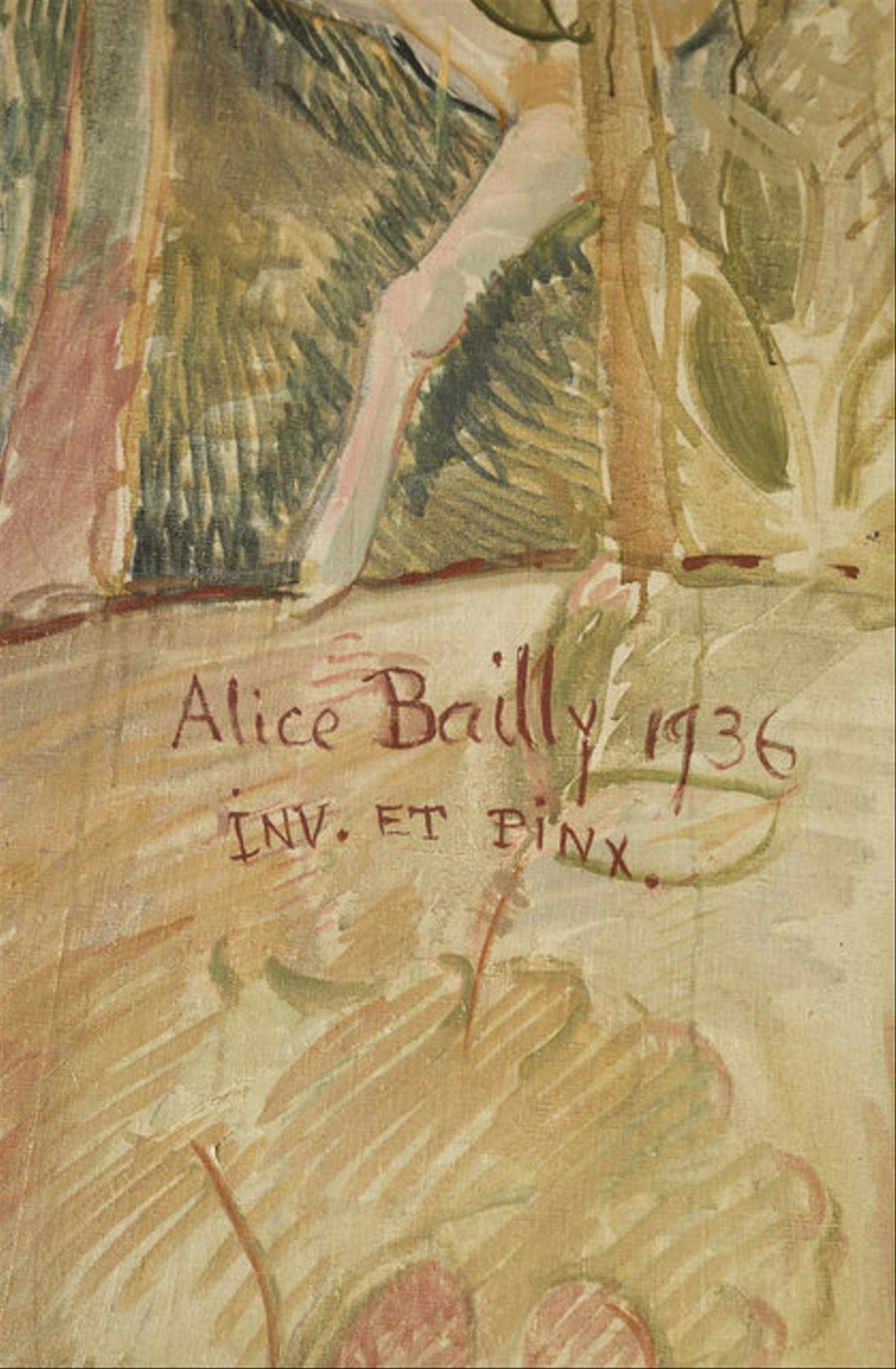 Signature Alice Bailly