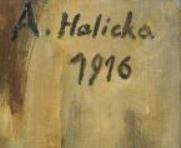 Signature Alice Halicka