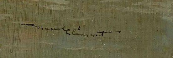 signature amédée marcel-clément