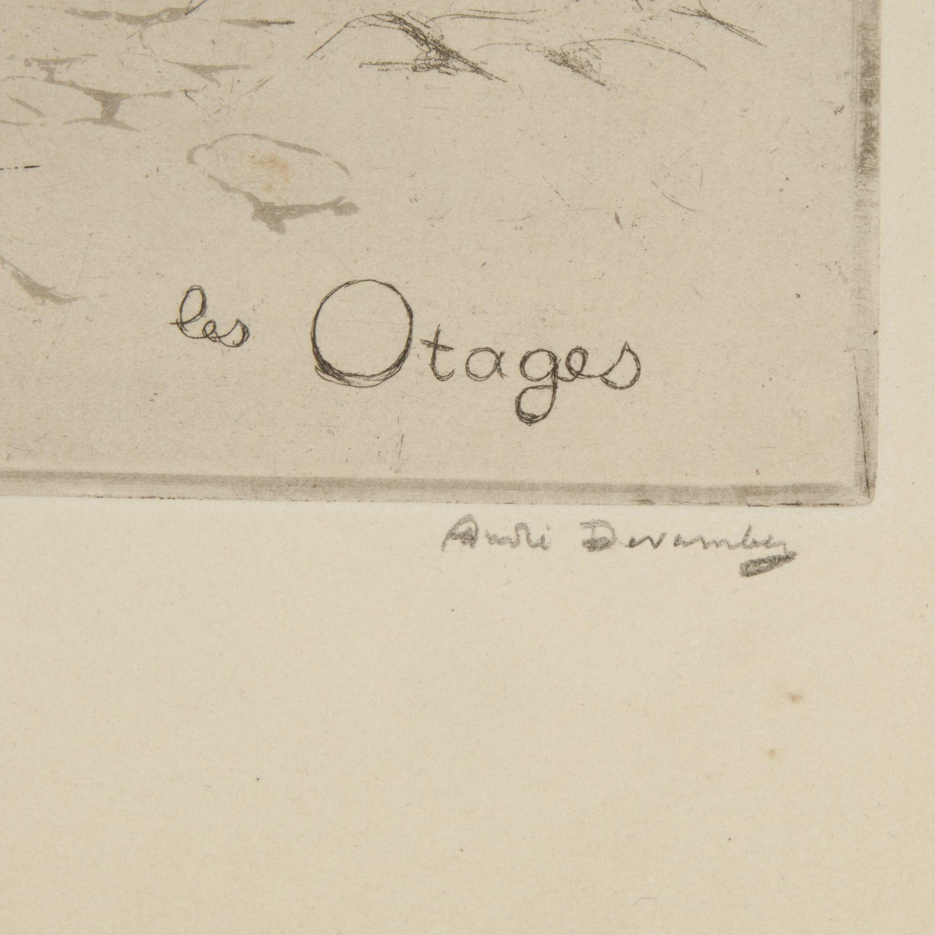 Signature André Devambez