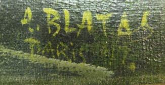 Signature Arbit Blatas