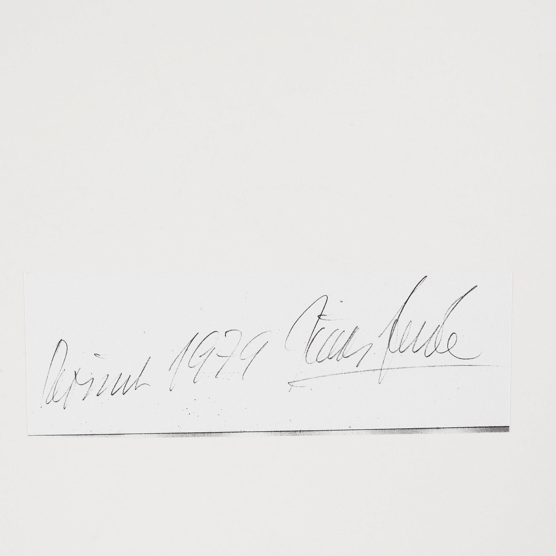 Signature August Sander