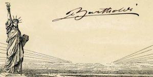 Signature Frédéric Auguste Bartholdi