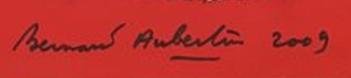 Signature Bernard Aubertin