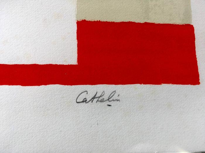 Signature Bernard Cathelin