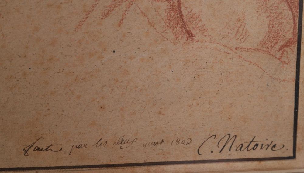Signature Charles Joseph Natoire