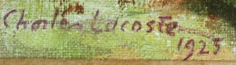 Signature Charles Lacoste