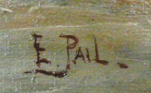 Signature Edouard Pail