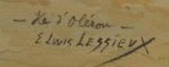 Signature Ernest Lessieux