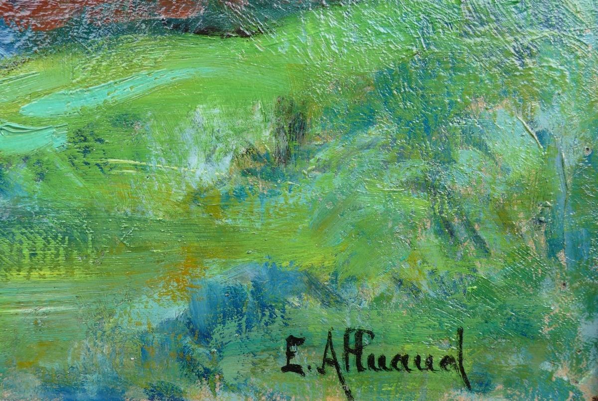 Signature Eugène Alluaud
