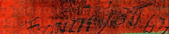 Signature Francis Bott