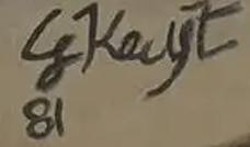 Signature George Keyt