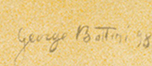Signature Georges Albert Bottini